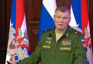 سخنگوی وزارت دفاع روسیه