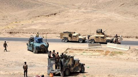 قدرتنمایی طالبان در استان «جوزجان» در شمال افغانستان+ نقشه میدانی و تصاویر