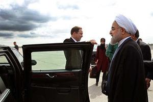 فیلم/ ورود روحانی به نیویورک