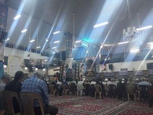 عکس/ گرامیداشت شهدای اهواز در حرم حضرت زینب