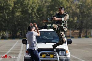 عکس/صبحگاه مشترک یگانهای نمونه ارتش