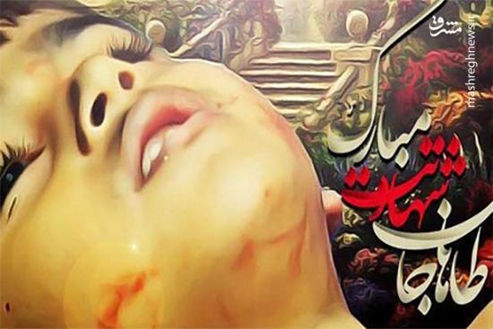 """فیلم/درخواست مادرشهید 4 ساله""""طاها اقدامی"""""""