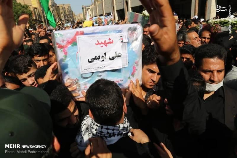 2349483 - تشییع با شکوه شهدای حادثه تروریستی اهواز