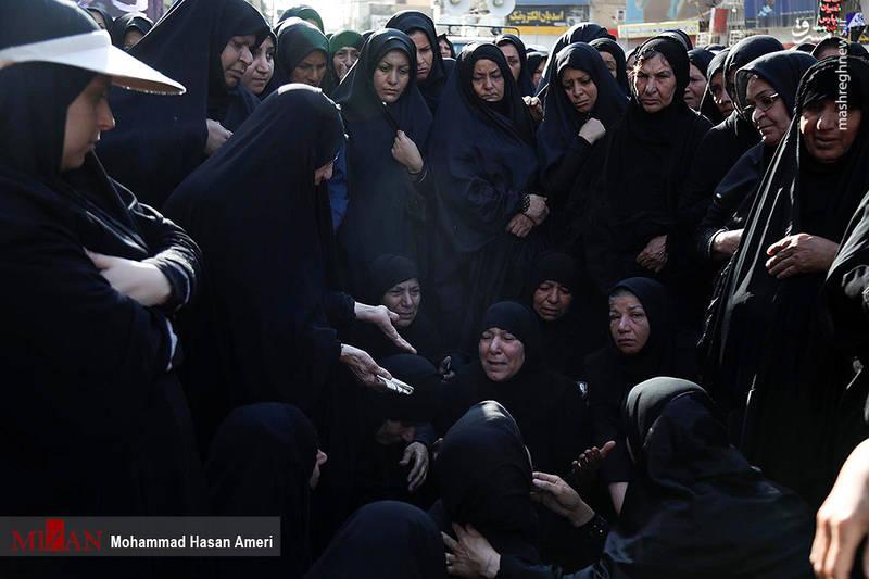 2349496 - تشییع با شکوه شهدای حادثه تروریستی اهواز