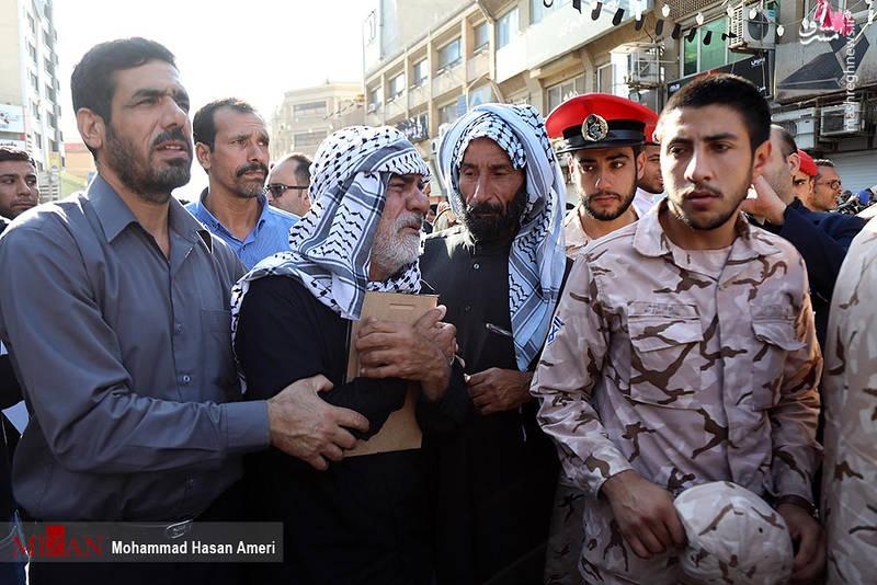 2349500 - تشییع با شکوه شهدای حادثه تروریستی اهواز