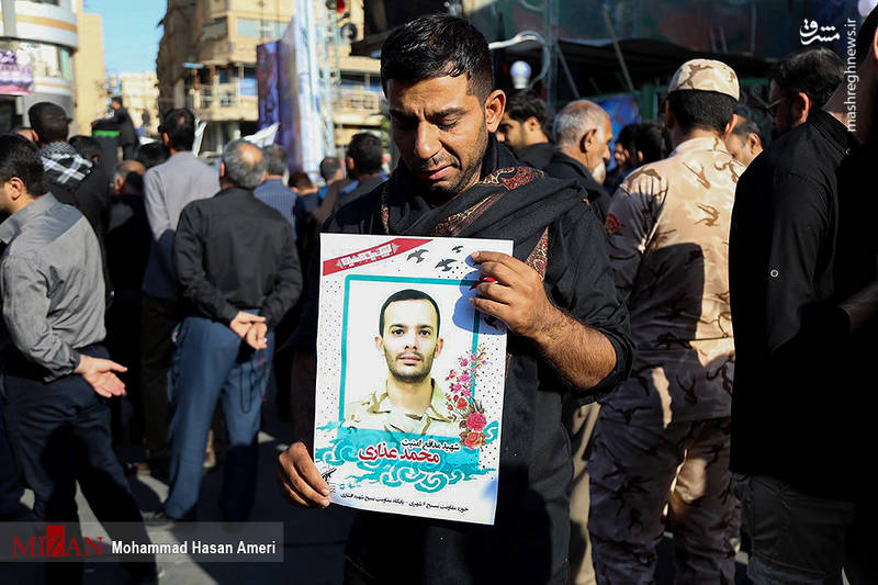 2349503 - تشییع با شکوه شهدای حادثه تروریستی اهواز
