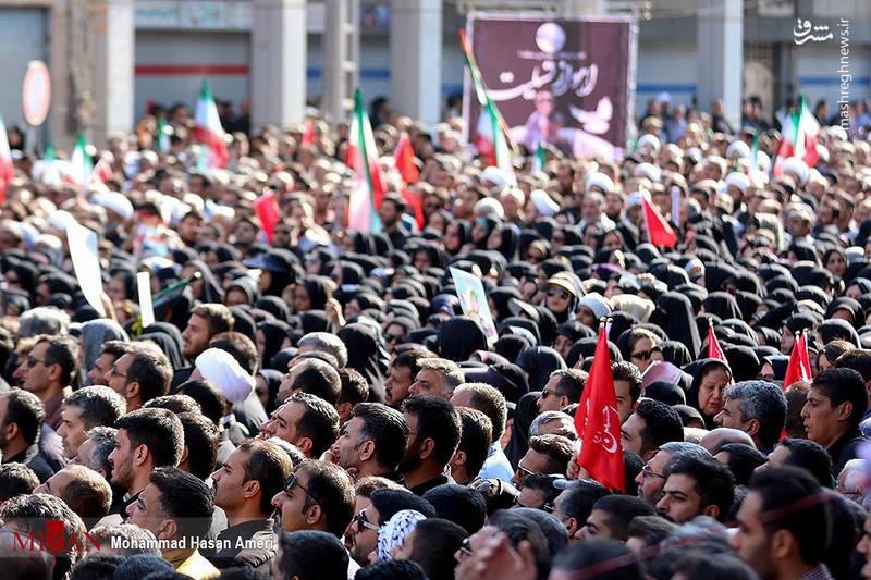 2349507 - تشییع با شکوه شهدای حادثه تروریستی اهواز