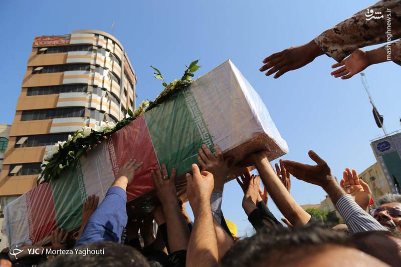 2349544 - تشییع با شکوه شهدای حادثه تروریستی اهواز