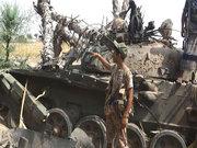 زمینگیر شدن نیروهای شورشی در فرودگاه الحدیده