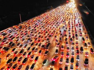 عکس/ ترافیک چینی