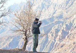 تلاش ستودنی یک محیط بان برای رساندن آب به حیات وحش +عکس