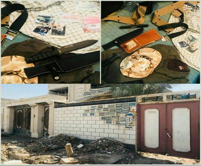اولین تصاویر از خانه تروریستها در اهواز