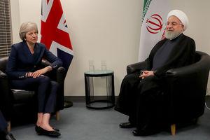 عکس/ دیدار نخست وزیر انگلیس با روحانی,
