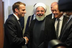 عکس/ دیدار روسای جمهوری ایران و فرانسه