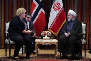 عکس/ دیدار نخست وزیر نروژ،ارمنستان و بلژیک با روحانی