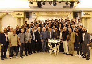 عکس/ ضیافت شام به مناسبت 74 سالگی استقلال