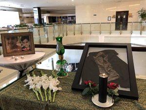 پیراهن شهید «محمدطاها اقدامی»، شهید ۴ساله حمله تروریستی اهواز در حاشیه نخستین نشست گفتگوی امنیتی منطقه ای تهران به نمایش درآمد.