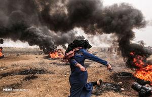 اعتراض در غزه