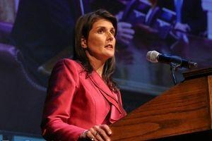 نیکی هیلی به پایان تحریم تسلیحاتی ایران اعتراف کرد