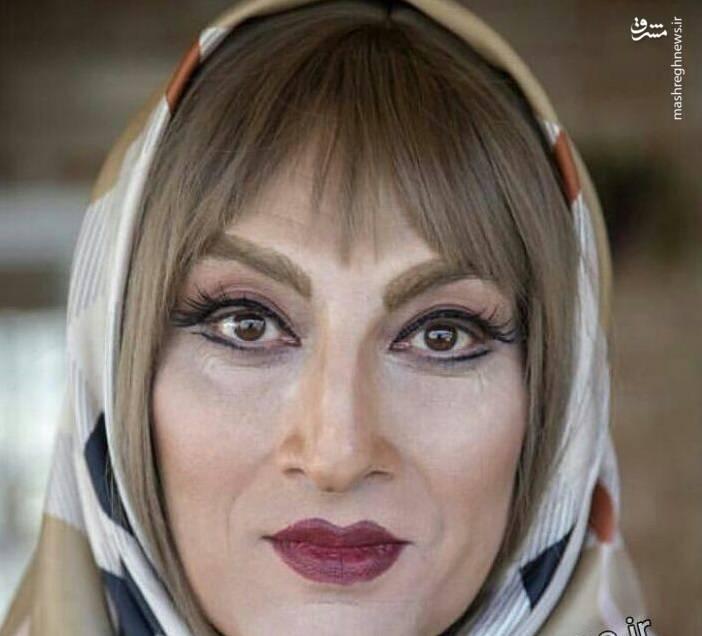 Image result for زن شدن ارژنگ فضلی لازانیا