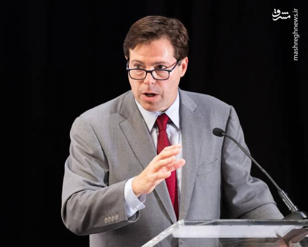مارک والاس(رییس گروه متحد علیه ایران هسته ای)