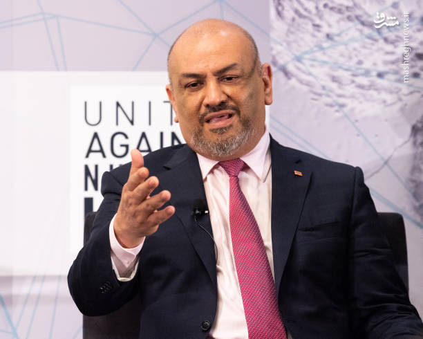 (خالد الیمانی) وزیر خارجه دولت مستعفی یمن