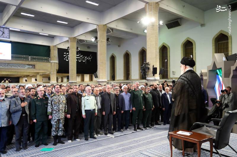 ویژه برنامه هفته دفاع مقدس در محضر رهبری
