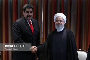 عکس/ دیدار نیکلاس مادورو با حسن روحانی