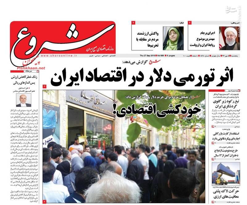 شروع: اثر تورمی دلار در اقتصاد ایران