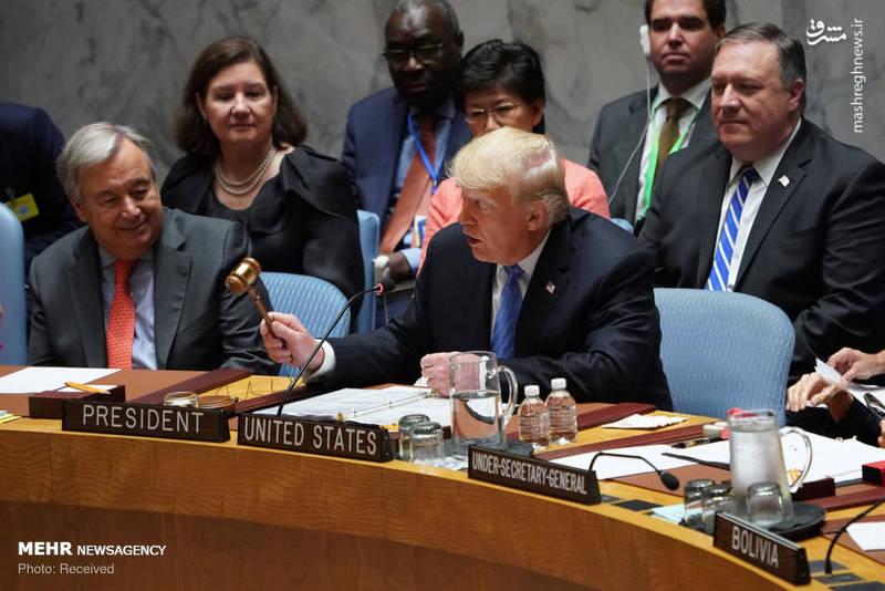 2351953 - حاشیه های نشست شورای امنیت به ریاست ترامپ!