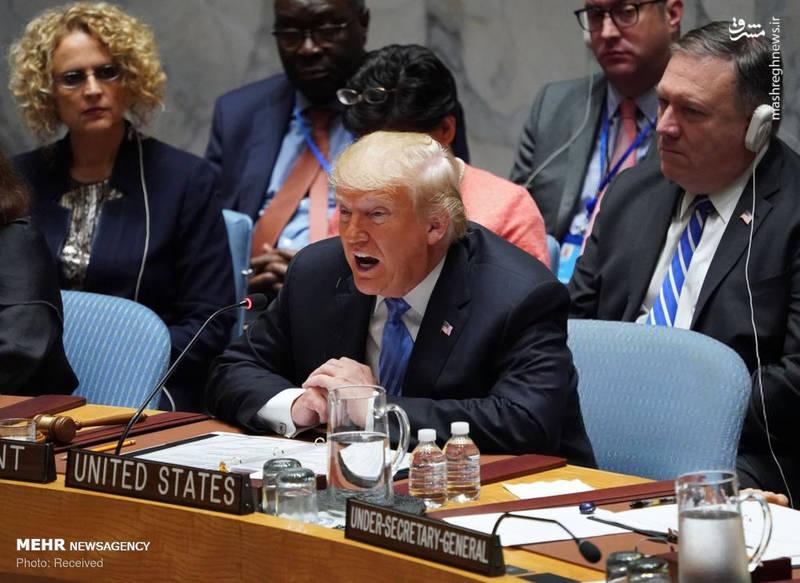 2351960 - حاشیه های نشست شورای امنیت به ریاست ترامپ!