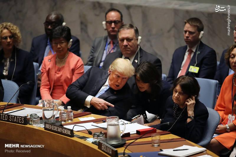2351961 - حاشیه های نشست شورای امنیت به ریاست ترامپ!