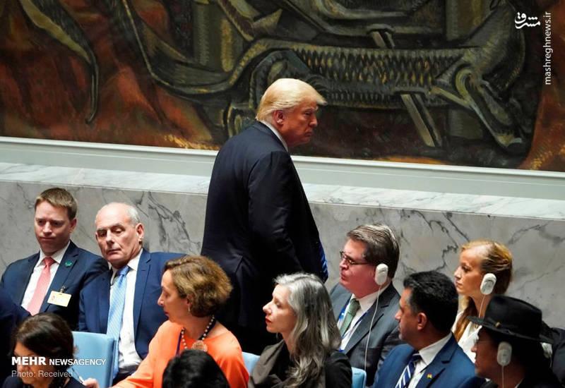 2351962 - حاشیه های نشست شورای امنیت به ریاست ترامپ!