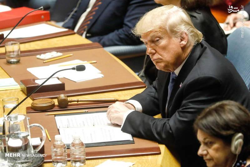 2351967 - حاشیه های نشست شورای امنیت به ریاست ترامپ!