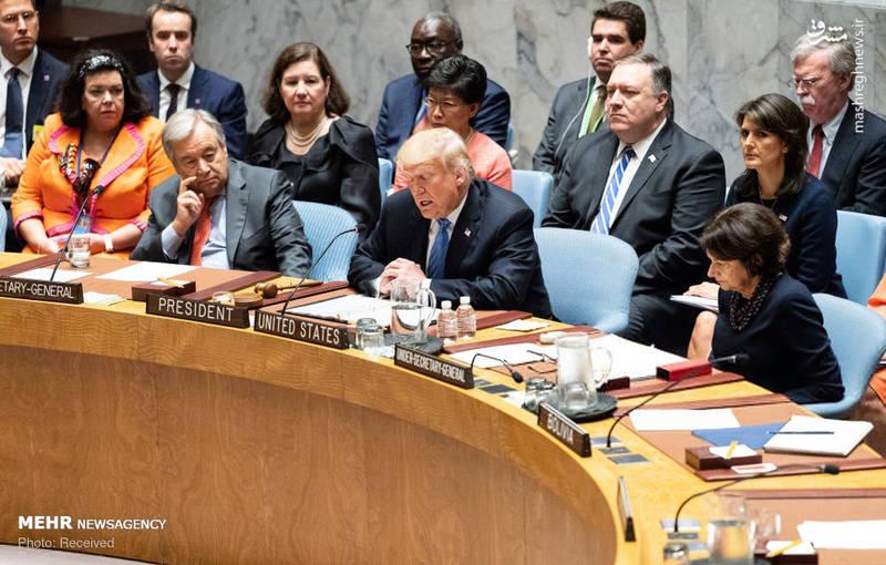 2351971 - حاشیه های نشست شورای امنیت به ریاست ترامپ!