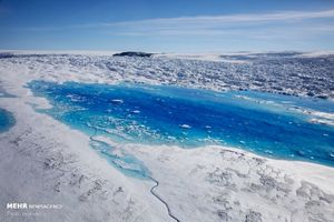 عکس/ تاثیر گرم شدن زمین بر یخ های قطبی