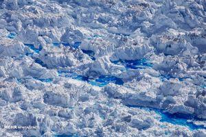 تصاویری جذاب از ذوب شدن یخهای قطبی