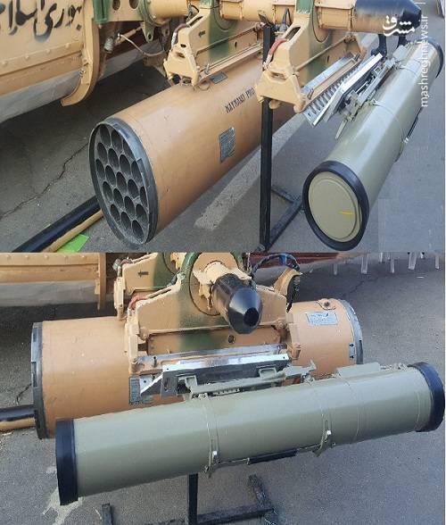 بالگرد 214 مجهز به موشک ضد زره دهلاویه و راکت انداز 19 تایی