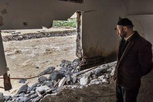 تصاویر جدید از خسارت سیل در تالش