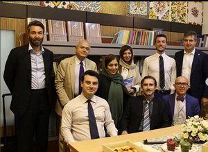 مسوول «خانه هنرمندان» در میهمانی سفارتخانهها چه میکند؟ +تصاویر
