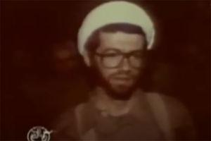 """فیلم/ مصاحبه با""""حجت الاسلام عالی""""در دفاع مقدس"""