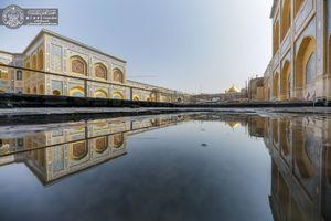 جدیدترین تصاویر از ساخت صحن حضرت زهرا(س)