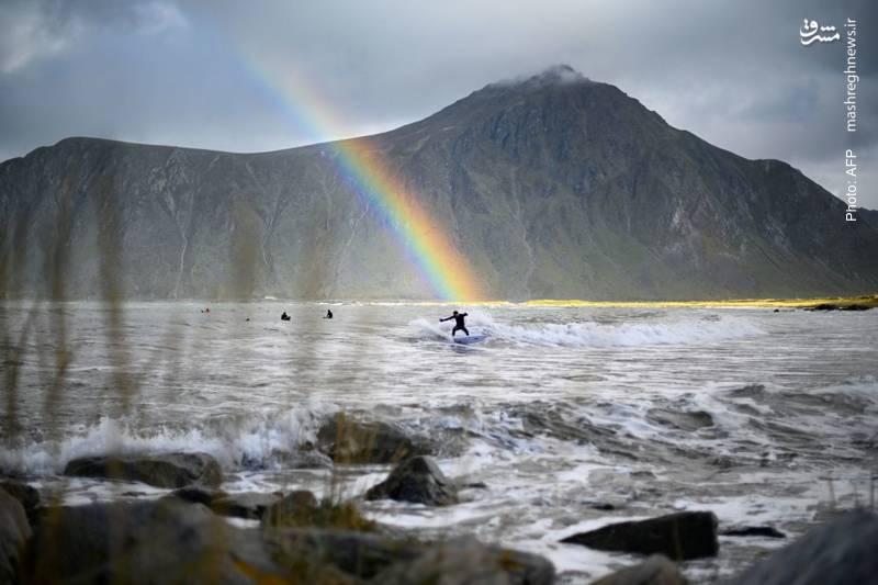 شمالیترین مسابقات موجسواری در نروژ