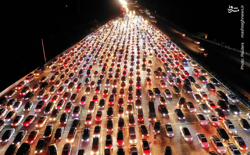پایان تعطیلات نیمه پاییز در چین
