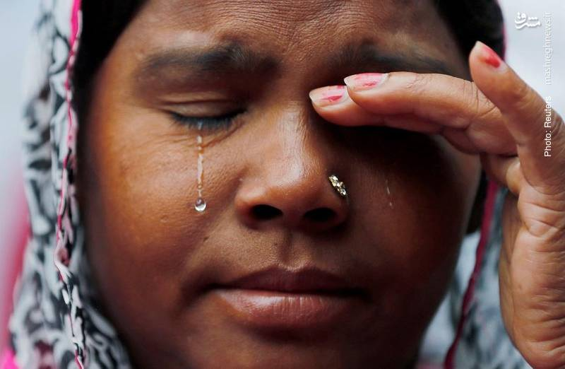 تظاهرات خانوادههای افراد شاغل در تخلیه چاه و فاضلاب در دهلی نو که طی دهه گذشته در هند حدود 1800 قربانی داشته است.