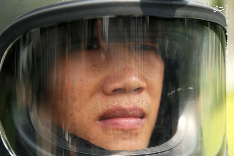 در حاشیه عملیات خنثیسازی بمب در چین