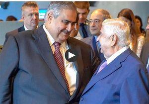 واکنش وزیرخارجه بحرین به دیدارش با ولیدمعلم