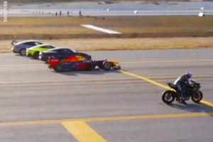 فیلم/ رقابت دیدنی سریعترین وسایل نقلیه جهان!
