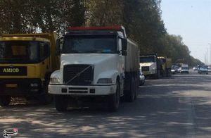 معضل جدید شهرداری برای کامیونداران