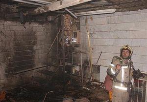 آتش گرفتن منزل حین شستوشوی وسایل با بنزین +عکس